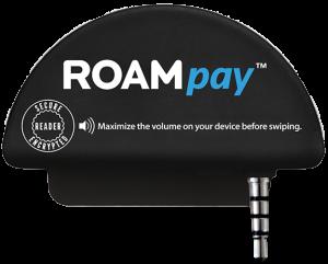 RoamData RoamPay G3X Mobile Credit Card Reader (Part # 1012)