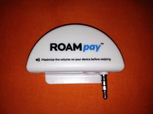 RoamData - 3.5 mm Roampay (G2) Card Reader Adapter (Part 1001 & 1011)
